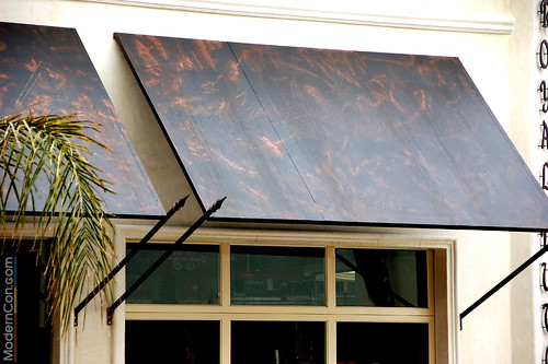 Sheet Metal Awnings