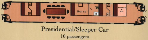 train chartering classic presidential sleeper car centr flickr. Black Bedroom Furniture Sets. Home Design Ideas