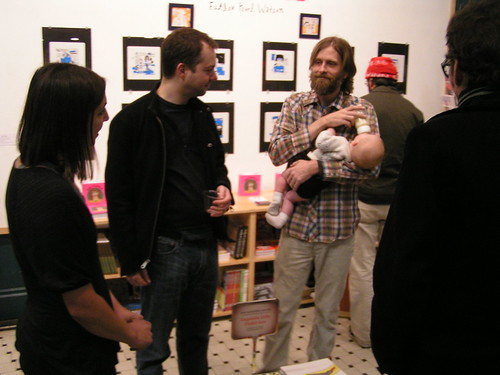 "Esther Pearl Watson ""Unlovable"" Exhibit Opening, Fantagraphics Bookstore & Gallery, 2/7/09 