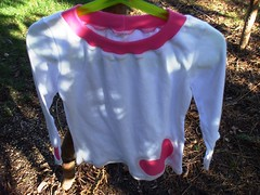 Upcycled Shirt with Reverse Applique 2 | by hotteaapparel