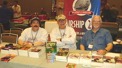 My publisher and 'friends' at Windy City Con | by Michael Vance1
