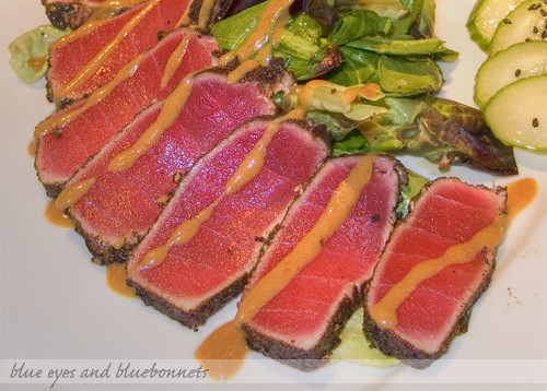 Seared Ahi Tuna | by Blue Eyes and Bluebonnets
