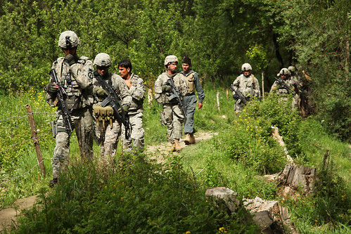 Combined forces patrol | by The U.S. Army