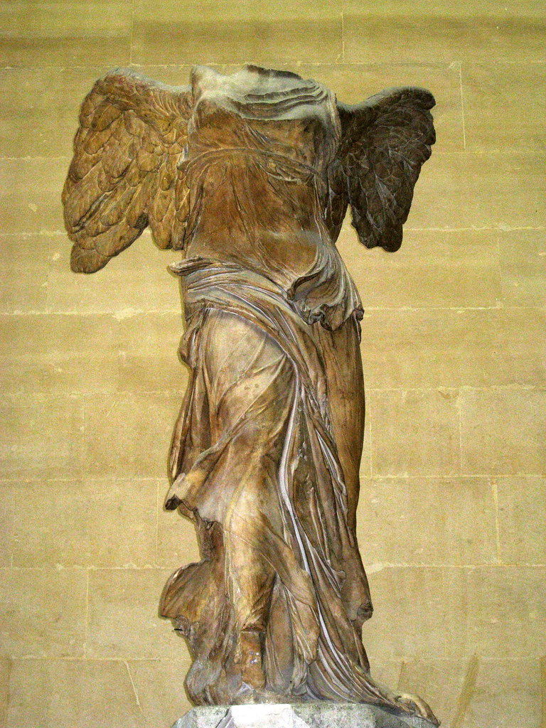 an analysis of the greek sculpture nike of samothrace Arth 1001: museum formal analysis paper the tiber muse winged victory of the nike of samothrace justinian and attendants from san vitale adrienne keiser ta- anna.