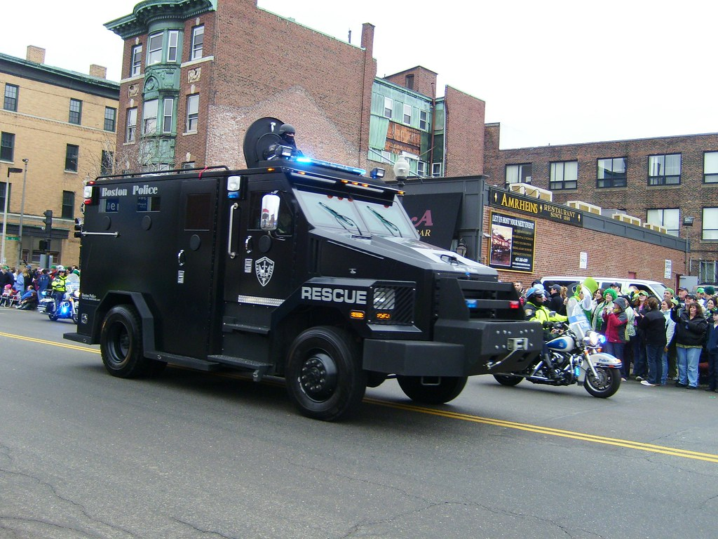 Boston Police S.W.A.T. Team Rescue armored vehicle | Flickr
