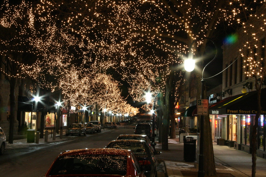 naperville il at night by mturnbull