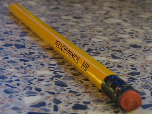 Yellow Pencil | by Quite Adept