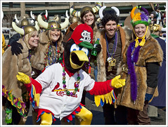 2009 Mardi Gras Parade 38 (Fredbird and Vikings) | by bobcrowe_com