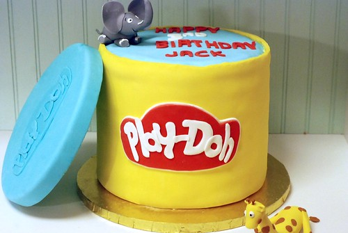 play-doh cake | by tashistation