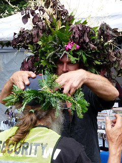Tree Man Crowns The Security Guy | by Adrienne Johnson SF