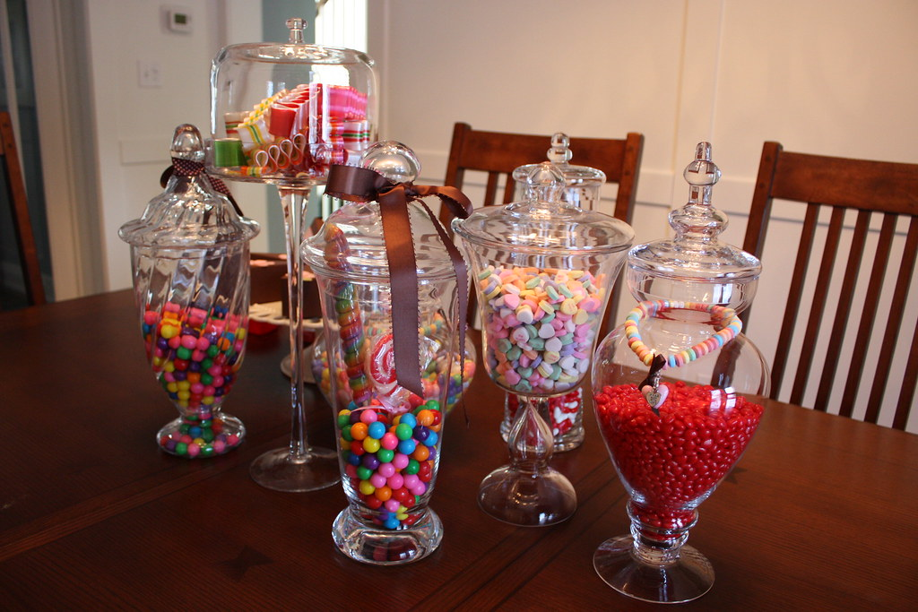 Candy Jar Decorations Entrancing Juicy Candy Jars  Decorations For The Juicy Couture Birthda…  Flickr Design Decoration