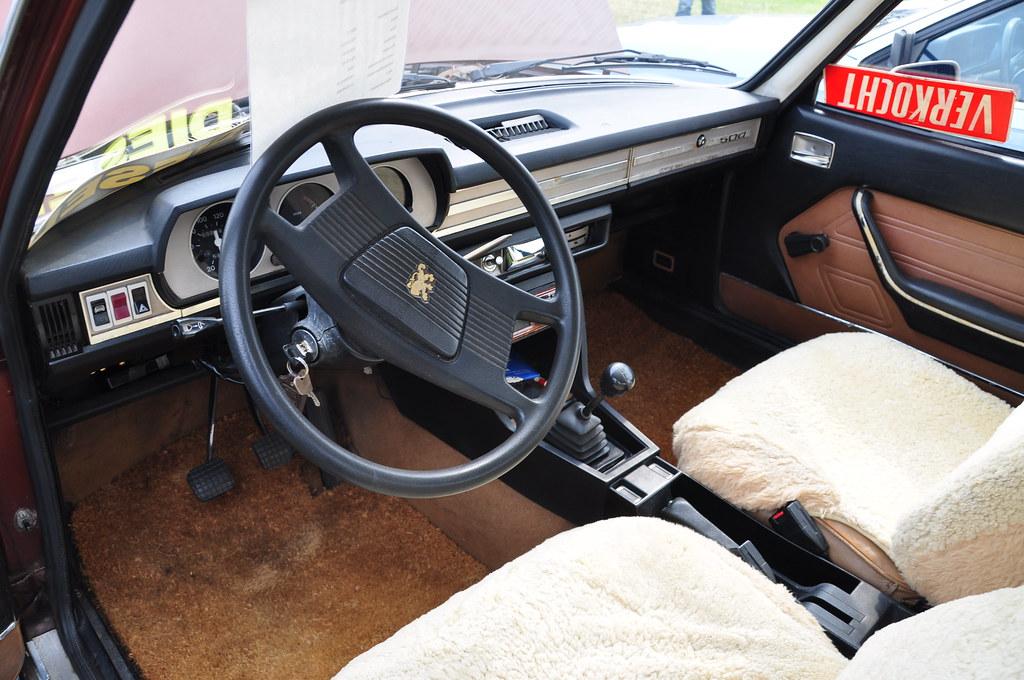 Oldtimershow Hoornsterzwaag Peugeot 504 Diesel Interior Flickr