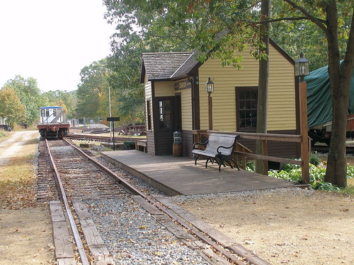WILLIMANTIC - CT EASTERN RAILROAD MUSEUM-CHAPLIN STATION 6 ...
