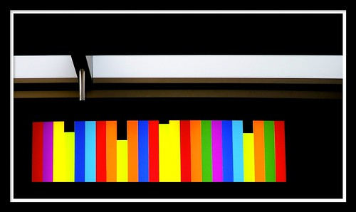 bookshelf of colours | by skywalking luke