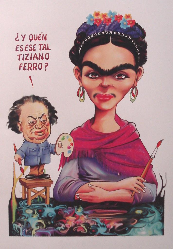 frida kahlo caricatura caricatura de frida kahlo expuesta flickr