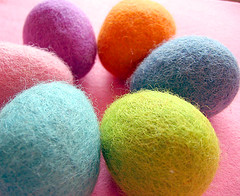 Felt Easter Eggs for Spring | by Felt-o-rama