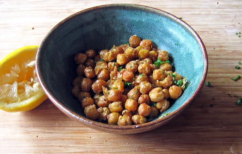 roasted chickpeas with lemon | by Jess | Sweet Amandine