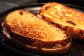 grilled cheese on sourdough | by katinlee