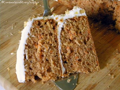Carrot Cake with Cream Cheese Frosting | by CinnamonKitchn