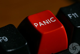 The panic key | by Phil Romans