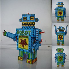 ROBOT !!! | by m a c h i n t o y