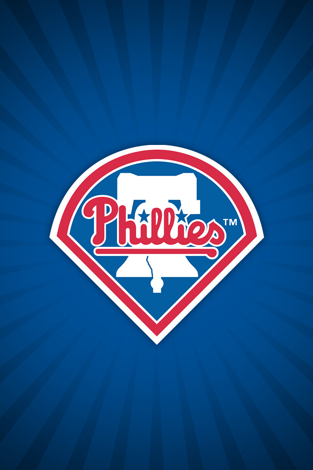 Philadelphia Phillies Alt Wallpaper IOS4 Retina Display