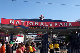 Washington DC - Navy Yard: Nationals Park - Center Field Gate | by wallyg