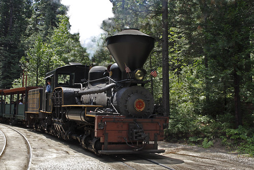 Locomotive #10 at Sugar Pine Railroad - Yosemite California | by Alan Vernon.
