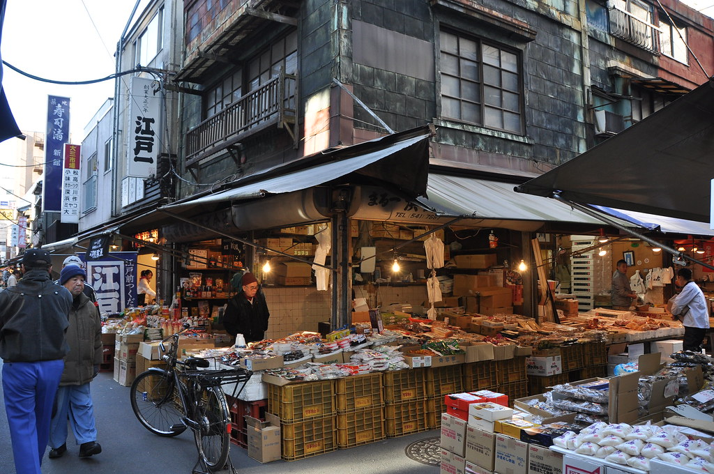 Tsukiji Fish Market's Outer Market