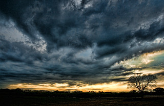 Storm Clouds at Dusk | by Jeff Clow