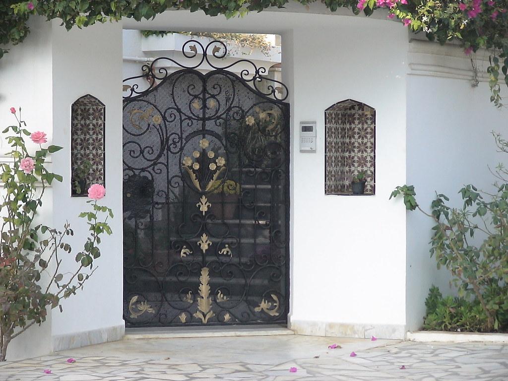 Porte En Fer Exterieur