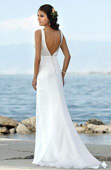 Low Back Beach Wedding Dresses | Beach Wedding Dresses | Flickr