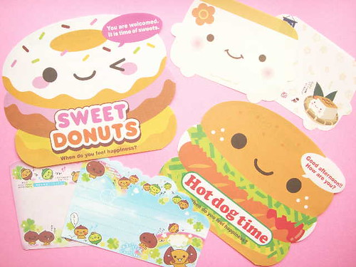 Kawaii Memo Sheets Stationery Paper Happy Smile Cute Japan | by Kawaii Japan