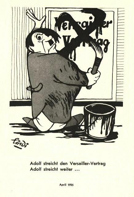 1935 Hitler Streicht Versailler Vertrag Adolfo A Abadía Flickr