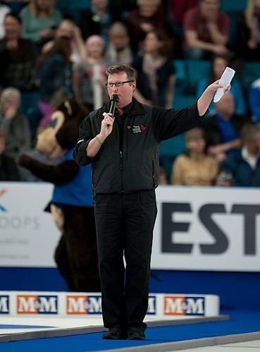 Kamloops B.C.Mar9_2014.Tim Hortons Brier.Master of Ceremonies Stuart Brown.CCA/michael burns photo | by seasonofchampions