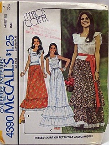 Vintage Mccalls Pattern 4390 Marlo S Corner Womens 70 S Ma