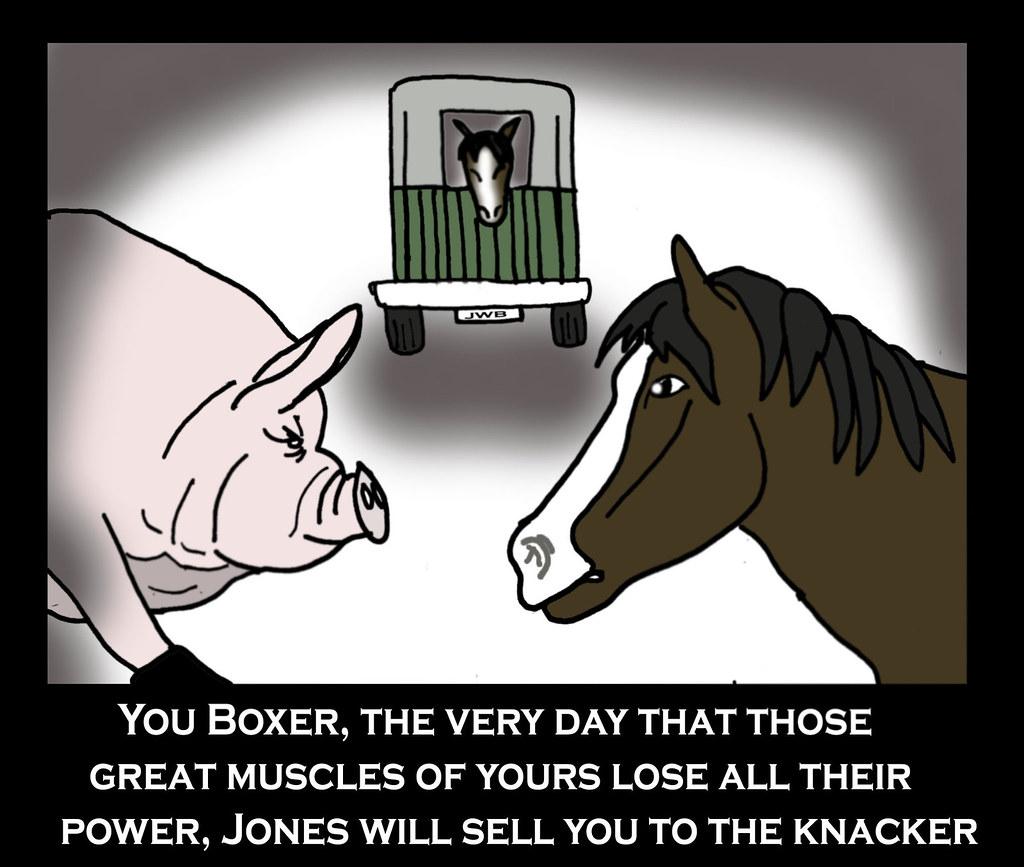 Animal Farm Boxer Quotes
