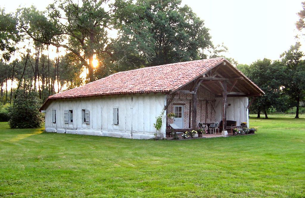 30214 chambres d 39 h tes la bergerie de pinot sore dans la for t landaise dans le parc - Chambre d hote dans les landes ...