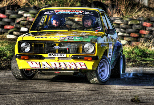 Classic Ford Escort Rally Car Eurocables Rally Kirkisto Flickr