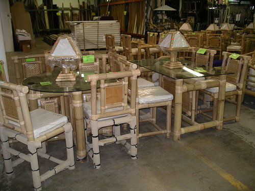 Price Reduction On Bamboo Furniture Examples Glass Top D Flickr