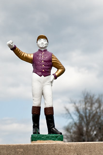 Most Excellent Lawn Jockey, Monmouth Park, New Jersey | by flickr4jazz