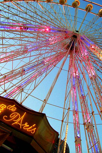 /// PARIS /// tuleries carnival again; the famous ferris wheel. | by the_sand_is_neon