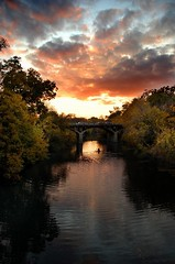 Barton Creek/Barton Springs Bridge at Dusk | by Bruce Lemons