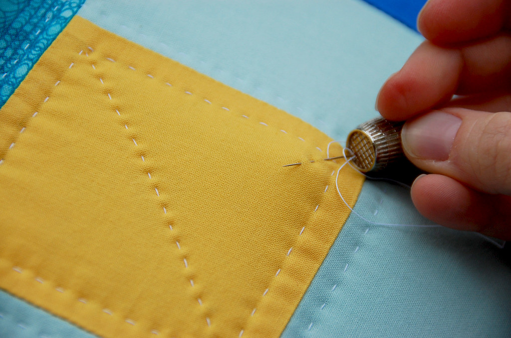 Hand Quilting Step E Step By Step Instructions On How To H Flickr
