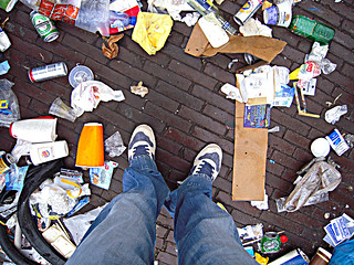 Amsterdam: city's rubbish collectors' strike... | by Solution?Revolution!