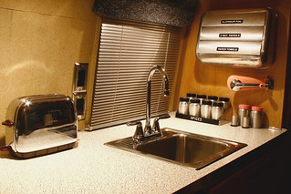 "Vintage Airstream Interior "" Kitchen "" 