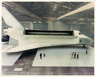 Full-scale mockup of Space Shuttle Orbiter Constitution  (OV-101) 1975 - Donwney, CA | by aharvey2k
