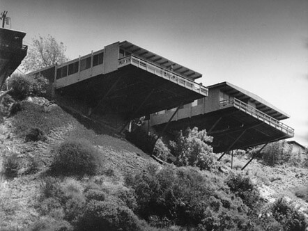hillside homes in los angeles by architect william suther flickr