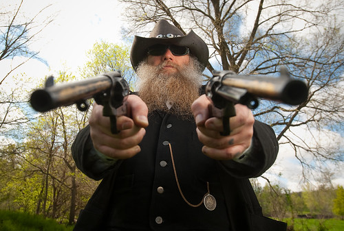 Gunfighter | Kevin Johnson of Mason City levels his ...