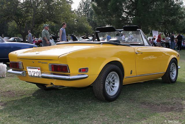 Fiat spider 1970
